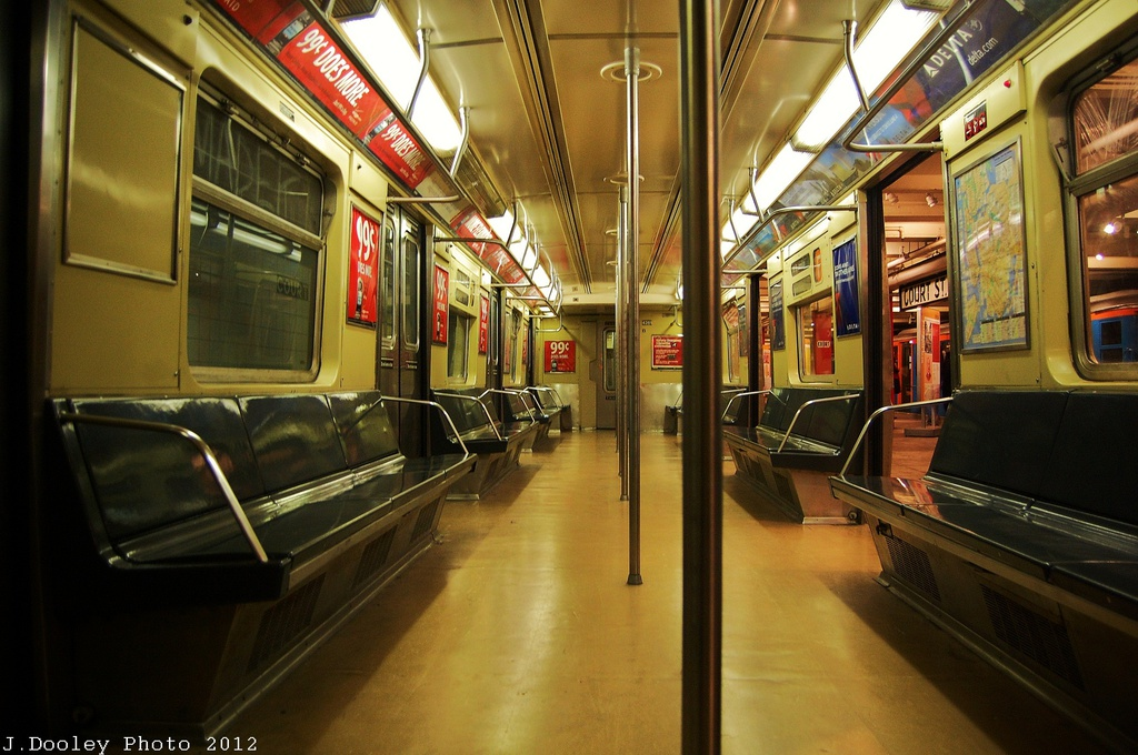 (328k, 1024x680)<br><b>Country:</b> United States<br><b>City:</b> New York<br><b>System:</b> New York City Transit<br><b>Location:</b> New York Transit Museum<br><b>Car:</b> R-40 (St. Louis, 1968)  4281 <br><b>Photo by:</b> John Dooley<br><b>Date:</b> 12/30/2012<br><b>Viewed (this week/total):</b> 0 / 447