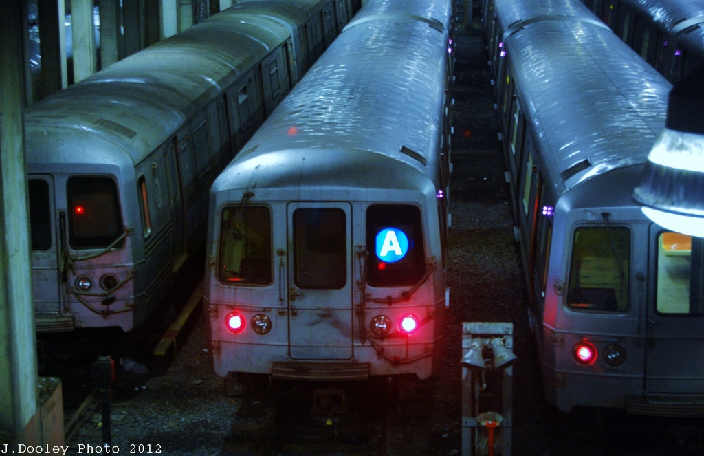 (259k, 1024x663)<br><b>Country:</b> United States<br><b>City:</b> New York<br><b>System:</b> New York City Transit<br><b>Location:</b> Pitkin Yard/Shops<br><b>Car:</b> R-46 (Pullman-Standard, 1974-75)  <br><b>Photo by:</b> John Dooley<br><b>Date:</b> 12/21/2012<br><b>Viewed (this week/total):</b> 2 / 483