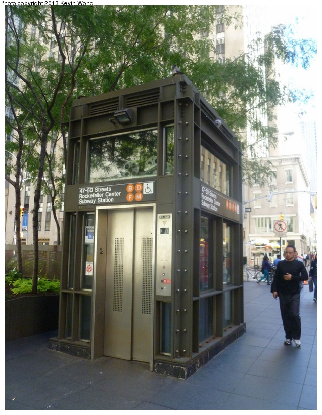 (206k, 637x820)<br><b>Country:</b> United States<br><b>City:</b> New York<br><b>System:</b> New York City Transit<br><b>Line:</b> IND 6th Avenue Line<br><b>Location:</b> 47-50th Street/Rockefeller Center <br><b>Photo by:</b> Kevin Wong<br><b>Date:</b> 9/23/2012<br><b>Viewed (this week/total):</b> 0 / 382