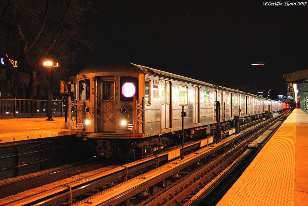 (334k, 1024x685)<br><b>Country:</b> United States<br><b>City:</b> New York<br><b>System:</b> New York City Transit<br><b>Line:</b> IRT Flushing Line<br><b>Location:</b> Willets Point/Mets (fmr. Shea Stadium) <br><b>Route:</b> 7<br><b>Car:</b> R-62A (Bombardier, 1984-1987)  1691 <br><b>Photo by:</b> Wilfredo Castillo<br><b>Date:</b> 2/28/2013<br><b>Viewed (this week/total):</b> 3 / 243
