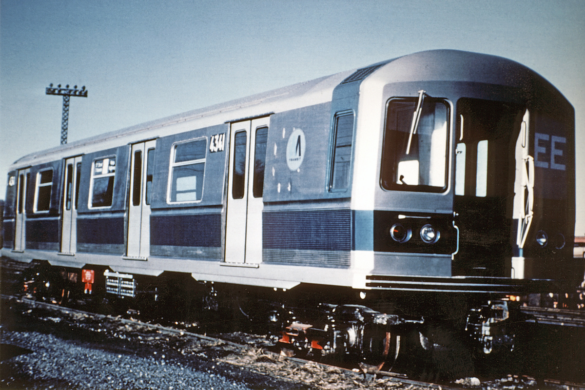 (389k, 1044x670)<br><b>Country:</b> United States<br><b>City:</b> New York<br><b>System:</b> New York City Transit<br><b>Location:</b> Coney Island Yard<br><b>Car:</b> R-40M (St. Louis, 1969)  4341 <br><b>Collection of:</b> David Pirmann<br><b>Date:</b> 1969<br><b>Viewed (this week/total):</b> 1 / 612