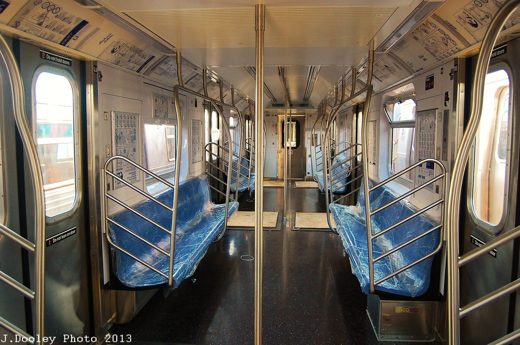(404k, 1024x681)<br><b>Country:</b> United States<br><b>City:</b> New York<br><b>System:</b> New York City Transit<br><b>Location:</b> Coney Island Yard<br><b>Car:</b> R-188 (Kawasaki, 2012-)  <br><b>Photo by:</b> John Dooley<br><b>Date:</b> 6/22/2013<br><b>Viewed (this week/total):</b> 1 / 1954
