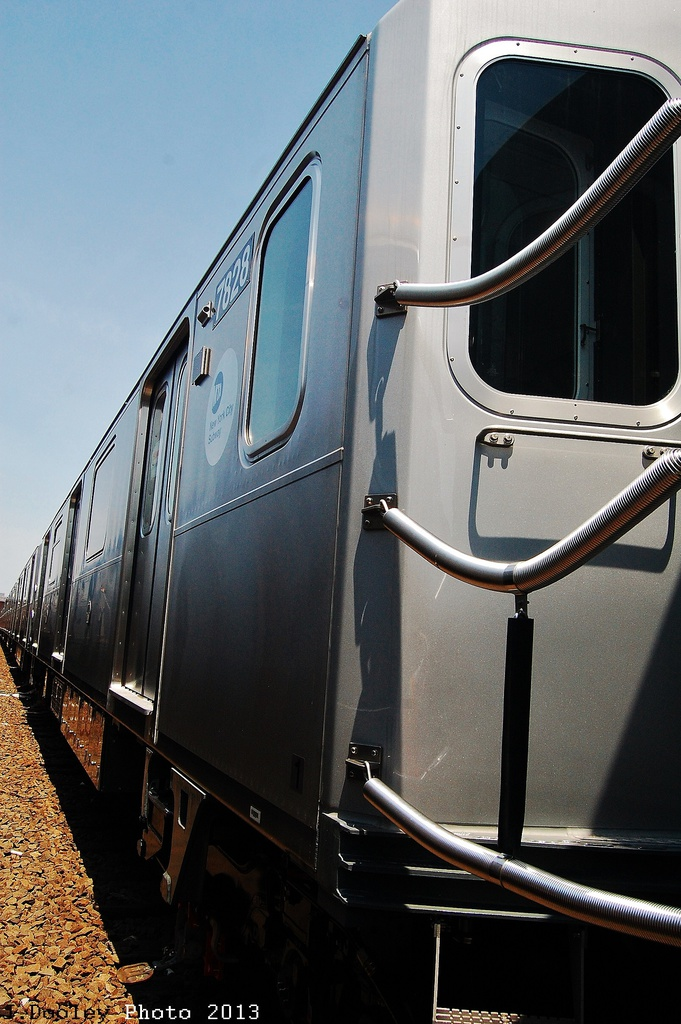 (305k, 681x1024)<br><b>Country:</b> United States<br><b>City:</b> New York<br><b>System:</b> New York City Transit<br><b>Location:</b> Coney Island Yard<br><b>Car:</b> R-188 (Kawasaki, 2012-) 7828 <br><b>Photo by:</b> John Dooley<br><b>Date:</b> 6/22/2013<br><b>Viewed (this week/total):</b> 0 / 490