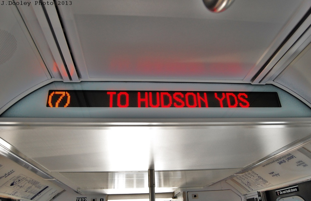 (220k, 1024x661)<br><b>Country:</b> United States<br><b>City:</b> New York<br><b>System:</b> New York City Transit<br><b>Location:</b> Coney Island Yard<br><b>Car:</b> R-188 (Kawasaki, 2012-) 7822 <br><b>Photo by:</b> John Dooley<br><b>Date:</b> 6/22/2013<br><b>Viewed (this week/total):</b> 4 / 1234