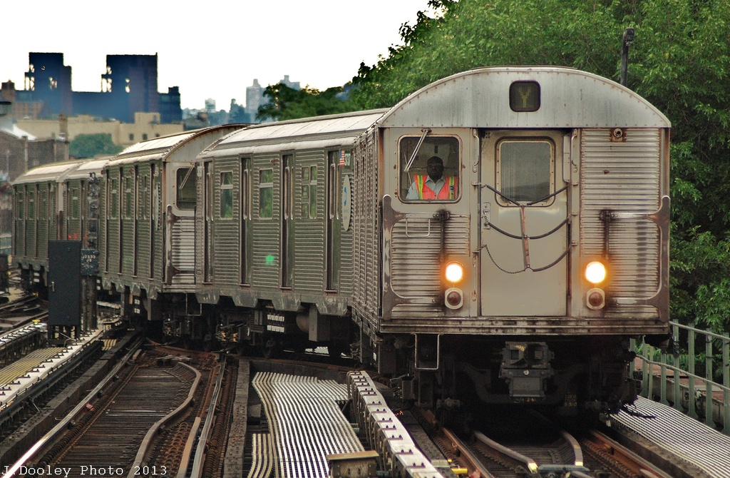 (374k, 1024x670)<br><b>Country:</b> United States<br><b>City:</b> New York<br><b>System:</b> New York City Transit<br><b>Location:</b> East New York Yard/Shops<br><b>Route:</b> J<br><b>Car:</b> R-32 (Budd, 1964)  3798 <br><b>Photo by:</b> John Dooley<br><b>Date:</b> 6/26/2013<br><b>Viewed (this week/total):</b> 1 / 442