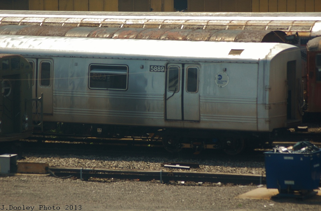 (287k, 1024x675)<br><b>Country:</b> United States<br><b>City:</b> New York<br><b>System:</b> New York City Transit<br><b>Location:</b> Coney Island Yard<br><b>Car:</b> R-46 (Pullman-Standard, 1974-75) 5889 <br><b>Photo by:</b> John Dooley<br><b>Date:</b> 6/22/2013<br><b>Viewed (this week/total):</b> 1 / 205