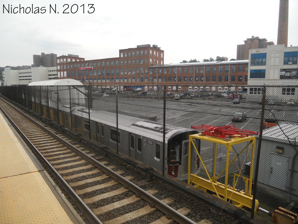 (398k, 1024x768)<br><b>System:</b> New York City Transit<br><b>Location:</b> Kawasaki Plant, Yonkers, NY<br><b>Car:</b> R-188 (Kawasaki, 2012-) 7876 <br><b>Photo by:</b> Nicholas Noel<br><b>Date:</b> 8/2013<br><b>Viewed (this week/total):</b> 0 / 816