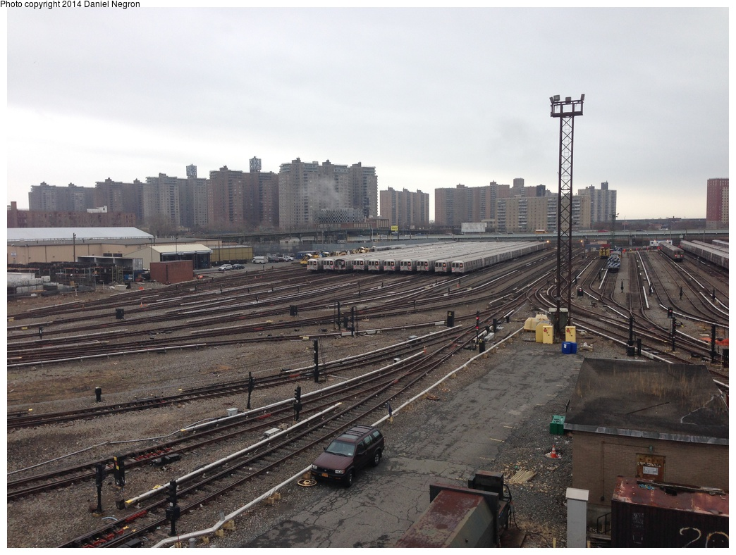 (316k, 1044x788)<br><b>Country:</b> United States<br><b>City:</b> New York<br><b>System:</b> New York City Transit<br><b>Location:</b> Coney Island Yard<br><b>Photo by:</b> Daniel Negron<br><b>Date:</b> 12/5/2013<br><b>Notes:</b> View from Tower B<br><b>Viewed (this week/total):</b> 0 / 517