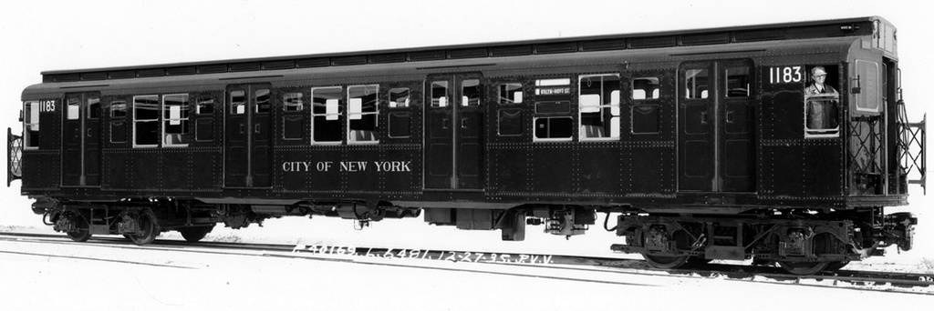 (128k, 1024x342)<br><b>Country:</b> United States<br><b>City:</b> New York<br><b>System:</b> New York City Transit<br><b>Location:</b> Pullman-Standard plant, Chicago, IL<br><b>Car:</b> R-6-2 (Pullman, 1936)  1183 <br><b>Collection of:</b> Frank Pfuhler<br><b>Date:</b> 12/27/1935<br><b>Viewed (this week/total):</b> 0 / 60