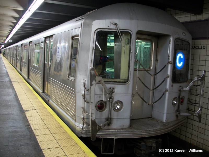 (128k, 800x600)<br><b>Country:</b> United States<br><b>City:</b> New York<br><b>System:</b> New York City Transit<br><b>Line:</b> IND Fulton Street Line<br><b>Location:</b> Euclid Avenue <br><b>Route:</b> C<br><b>Car:</b> R-42 (St. Louis, 1969-1970)  4799 <br><b>Photo by:</b> Kareem Williams<br><b>Date:</b> 12/20/2012<br><b>Viewed (this week/total):</b> 0 / 613