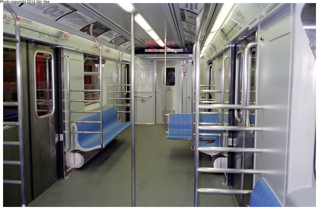 (341k, 1044x689)<br><b>Country:</b> United States<br><b>City:</b> New York<br><b>System:</b> New York City Transit<br><b>Location:</b> New York Transit Museum<br><b>Car:</b> R-110A (Kawasaki, 1992) 8006 <br><b>Photo by:</b> Gin Yee<br><b>Date:</b> 11/1992<br><b>Viewed (this week/total):</b> 3 / 1131