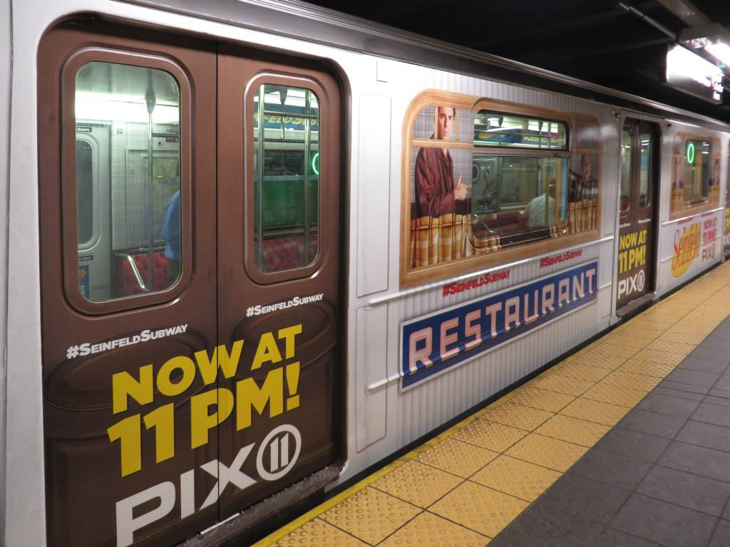 (121k, 1024x768)<br><b>Country:</b> United States<br><b>City:</b> New York<br><b>System:</b> New York City Transit<br><b>Line:</b> IRT Flushing Line<br><b>Location:</b> Times Square <br><b>Route:</b> 7<br><b>Car:</b> R-62A (Bombardier, 1984-1987)  1713 <br><b>Photo by:</b> Robbie Rosenfeld<br><b>Date:</b> 5/14/2014<br><b>Viewed (this week/total):</b> 5 / 736