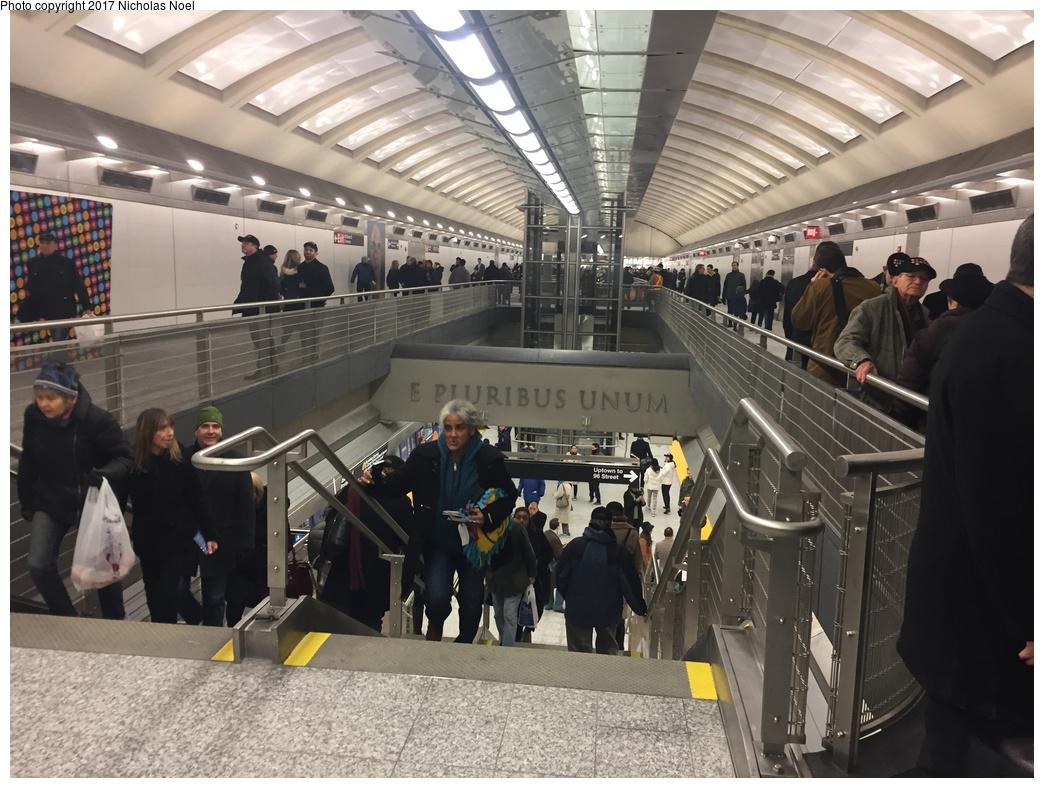 (318k, 1044x788)<br><b>Country:</b> United States<br><b>City:</b> New York<br><b>System:</b> New York City Transit<br><b>Line:</b> 2nd Avenue Subway<br><b>Location:</b> 86th Street <br><b>Photo by:</b> Nicholas Noel<br><b>Date:</b> 12/30/2016<br><b>Notes:</b> Open house at 86th Street.<br><b>Viewed (this week/total):</b> 5 / 418