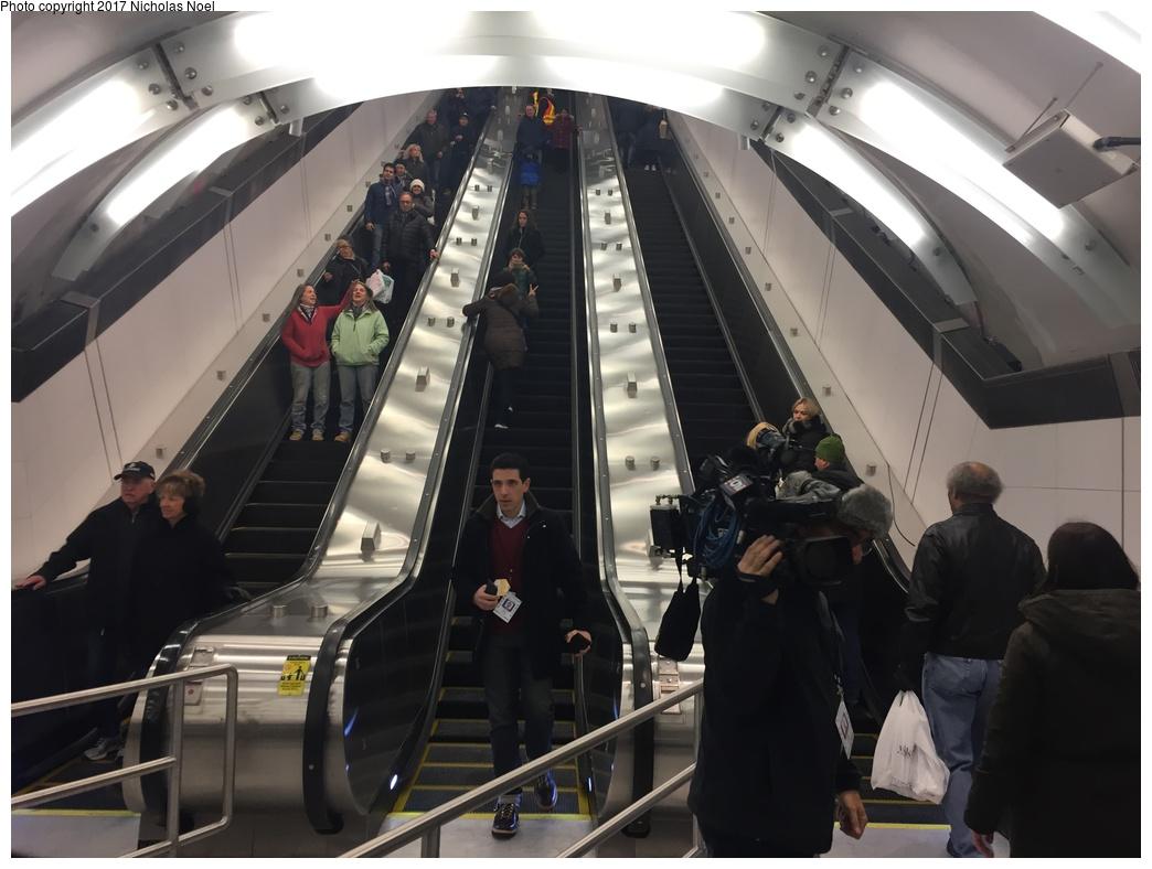 (239k, 1044x788)<br><b>Country:</b> United States<br><b>City:</b> New York<br><b>System:</b> New York City Transit<br><b>Line:</b> 2nd Avenue Subway<br><b>Location:</b> 86th Street <br><b>Photo by:</b> Nicholas Noel<br><b>Date:</b> 12/30/2016<br><b>Notes:</b> Open house at 86th Street.<br><b>Viewed (this week/total):</b> 29 / 203