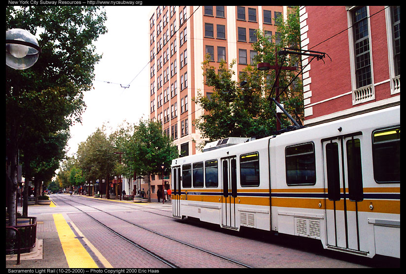 (195k, 824x557)<br><b>Country:</b> United States<br><b>City:</b> Sacramento, CA<br><b>System:</b> SACRT Light Rail<br><b>Location:</b> Cathedral Square <br><b>Photo by:</b> Eric Haas<br><b>Date:</b> 10/25/2000<br><b>Viewed (this week/total):</b> 0 / 1525