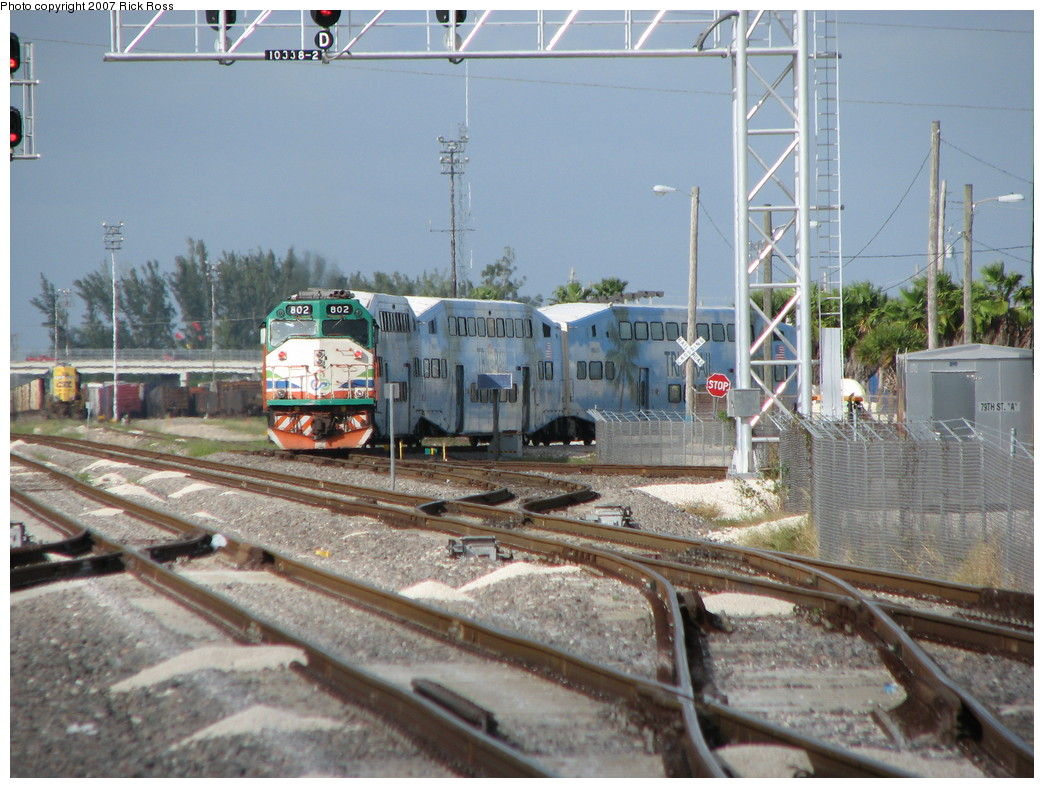 (244k, 1044x788)<br><b>Country:</b> United States<br><b>City:</b> Miami, FL<br><b>System:</b> Miami Tri-Rail<br><b>Location:</b> Metrorail Transfer (Metrorail, Amtrak) <br><b>Photo by:</b> Rick Ross<br><b>Date:</b> 1/1/2007<br><b>Viewed (this week/total):</b> 3 / 1429