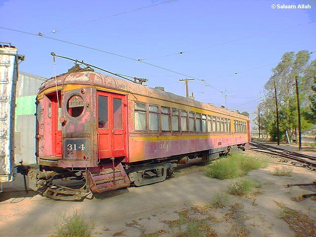 (96k, 640x480)<br><b>Country:</b> United States<br><b>City:</b> Perris, CA<br><b>System:</b> Orange Empire Railway Museum <br><b>Car:</b>  314 <br><b>Photo by:</b> Salaam Allah<br><b>Date:</b> 10/1/2000<br><b>Viewed (this week/total):</b> 0 / 1645