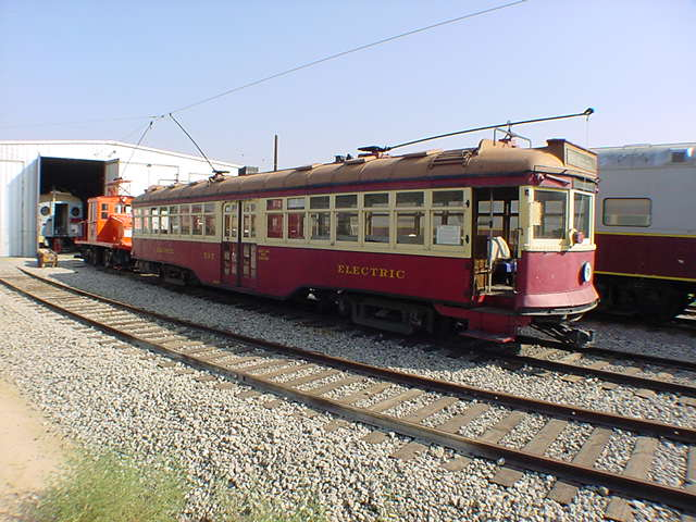 (60k, 640x480)<br><b>Country:</b> United States<br><b>City:</b> Perris, CA<br><b>System:</b> Orange Empire Railway Museum <br><b>Car:</b>  717 <br><b>Photo by:</b> Salaam Allah<br><b>Date:</b> 10/1/2000<br><b>Viewed (this week/total):</b> 6 / 1685
