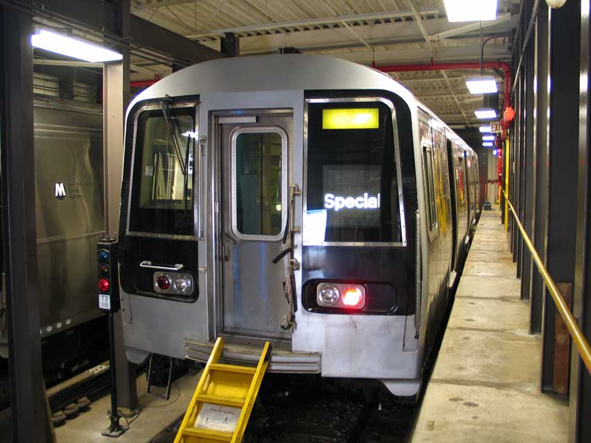 (83k, 853x640)<br><b>Country:</b> United States<br><b>City:</b> New York<br><b>System:</b> New York City Transit<br><b>Location:</b> Coney Island Yard-Training Facilities<br><b>Car:</b> R-110B (Bombardier, 1992) 3006 <br><b>Photo by:</b> Michael Pompili<br><b>Date:</b> 8/3/2004<br><b>Notes:</b> At Coney Island firefighter training school.<br><b>Viewed (this week/total):</b> 0 / 12469