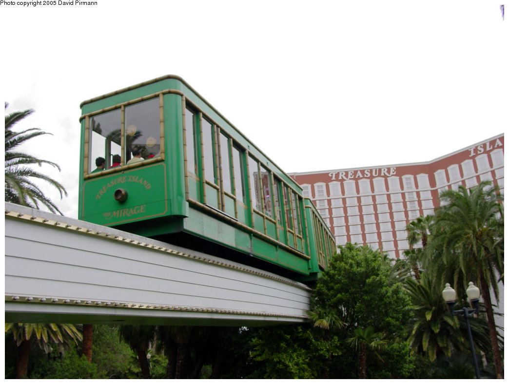 (161k, 1044x788)<br><b>Country:</b> United States<br><b>City:</b> Las Vegas, NV<br><b>System:</b> Mirage / Treasure Island Tram<br><b>Location:</b> Entering Treasure Island Property<br><b>Photo by:</b> David Pirmann<br><b>Date:</b> 4/23/2005<br><b>Viewed (this week/total):</b> 1 / 2412