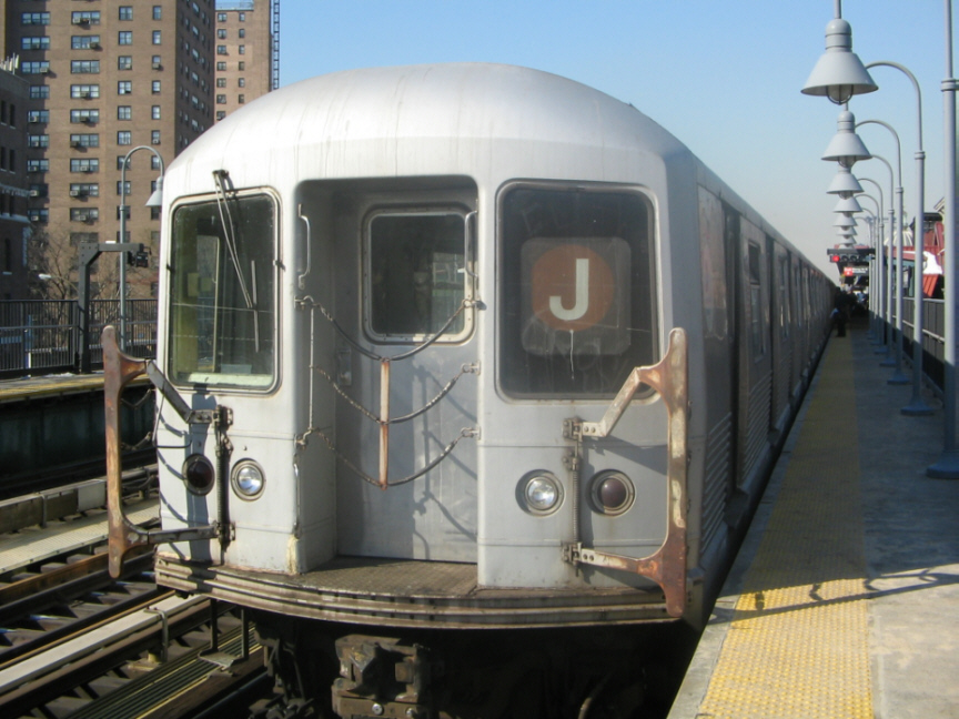 (255k, 864x648)<br><b>Country:</b> United States<br><b>City:</b> New York<br><b>System:</b> New York City Transit<br><b>Line:</b> BMT Nassau Street/Jamaica Line<br><b>Location:</b> Marcy Avenue <br><b>Route:</b> J<br><b>Car:</b> R-42 (St. Louis, 1969-1970)  4603 <br><b>Photo by:</b> Jose Martinez<br><b>Date:</b> 2/1/2005<br><b>Viewed (this week/total):</b> 4 / 3523