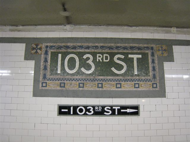 (48k, 640x480)<br><b>Country:</b> United States<br><b>City:</b> New York<br><b>System:</b> New York City Transit<br><b>Line:</b> IRT West Side Line<br><b>Location:</b> 103rd Street <br><b>Photo by:</b> David Blair<br><b>Date:</b> 4/25/2007<br><b>Viewed (this week/total):</b> 4 / 419