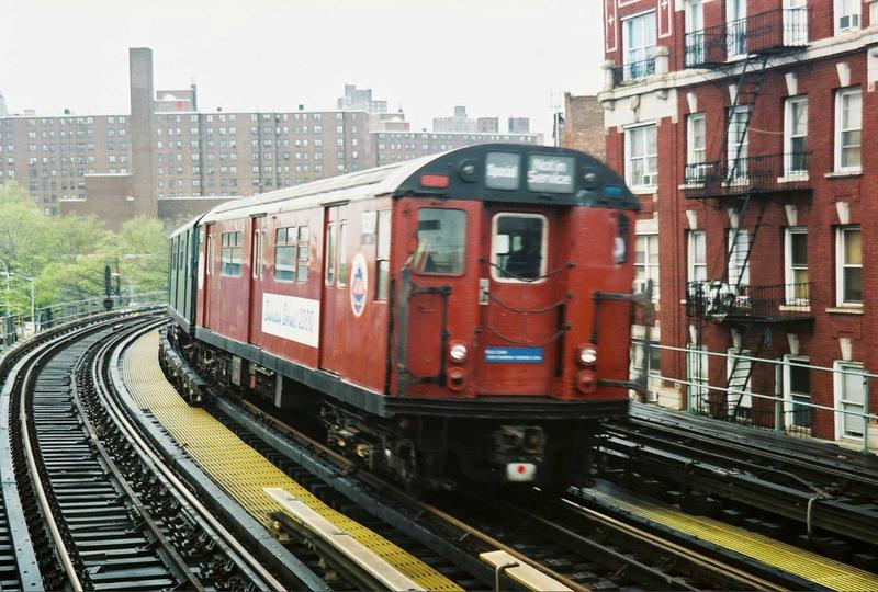 (88k, 800x540)<br><b>Country:</b> United States<br><b>City:</b> New York<br><b>System:</b> New York City Transit<br><b>Line:</b> IRT West Side Line<br><b>Location:</b> 207th Street <br><b>Route:</b> Fan Trip<br><b>Car:</b> R-33 World's Fair (St. Louis, 1963-64) 9327 <br><b>Photo by:</b> Gary Chatterton<br><b>Date:</b> 5/1/2005<br><b>Viewed (this week/total):</b> 1 / 5186