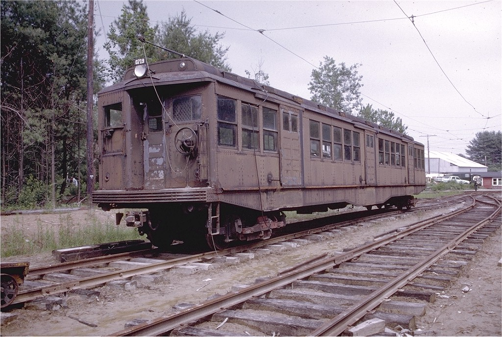 (260k, 1024x688)<br><b>Country:</b> United States<br><b>City:</b> Kennebunk, ME<br><b>System:</b> Seashore Trolley Museum <br><b>Car:</b> MBTA 0700 Series Cambridge-Dorchester (Osgood-Bradley, 1927)  0719 <br><b>Photo by:</b> Doug Grotjahn<br><b>Collection of:</b> Joe Testagrose<br><b>Date:</b> 7/1/1972<br><b>Viewed (this week/total):</b> 3 / 2146