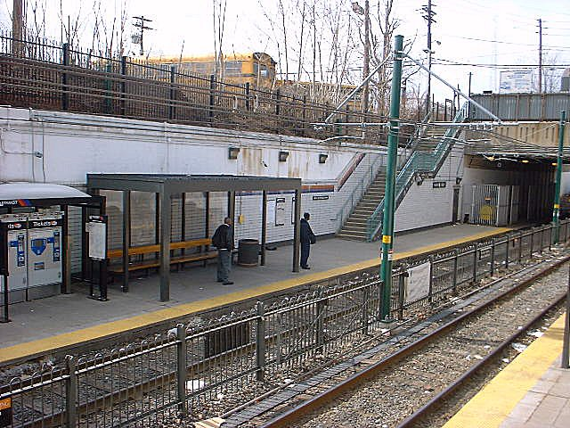 (118k, 640x480)<br><b>Country:</b> United States<br><b>City:</b> Newark, NJ<br><b>System:</b> Newark City Subway<br><b>Line:</b> 7-City Subway<br><b>Location:</b> Norfolk Street <br><b>Photo by:</b> Peggy Darlington<br><b>Date:</b> 2001<br><b>Viewed (this week/total):</b> 0 / 3869