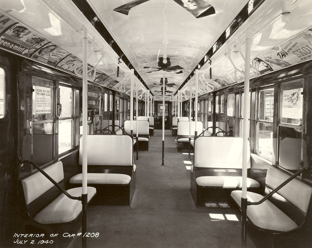 (300k, 1024x816)<br><b>Country:</b> United States<br><b>City:</b> New York<br><b>System:</b> New York City Transit<br><b>Car:</b> R-6-2 (Pullman, 1936)  1208 <br><b>Collection of:</b> Ed Watson/Arthur Lonto Collection<br><b>Date:</b> 7/2/1940<br><b>Viewed (this week/total):</b> 8 / 5730