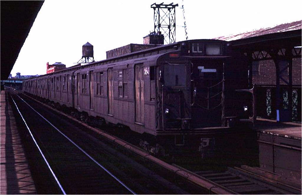 (130k, 1024x664)<br><b>Country:</b> United States<br><b>City:</b> New York<br><b>System:</b> New York City Transit<br><b>Line:</b> BMT Canarsie Line<br><b>Location:</b> Sutter Avenue <br><b>Route:</b> L<br><b>Car:</b> R-7A (American Car & Foundry, 1938)  1649 <br><b>Photo by:</b> Joe Testagrose<br><b>Date:</b> 8/2/1970<br><b>Viewed (this week/total):</b> 1 / 3014