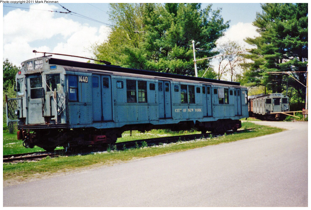 (391k, 1044x707)<br><b>Country:</b> United States<br><b>City:</b> Kennebunk, ME<br><b>System:</b> Seashore Trolley Museum <br><b>Car:</b> R-7 (American Car & Foundry, 1937)  1440 <br><b>Photo by:</b> Mark S. Feinman<br><b>Date:</b> 9/5/1994<br><b>Viewed (this week/total):</b> 0 / 3563