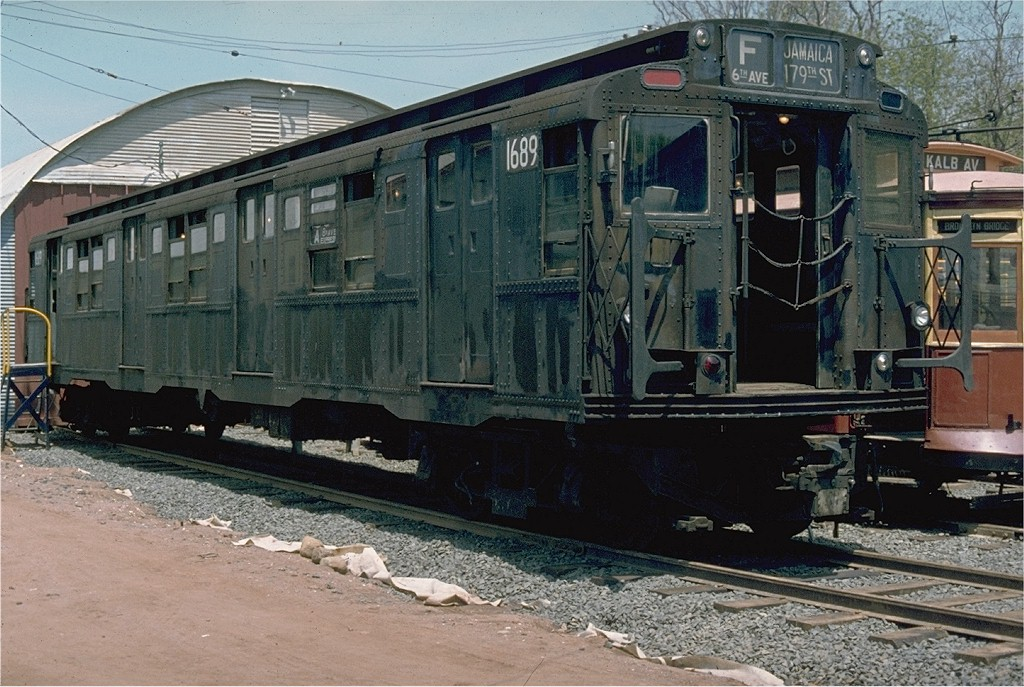 (230k, 1024x687)<br><b>Country:</b> United States<br><b>City:</b> East Haven/Branford, Ct.<br><b>System:</b> Shore Line Trolley Museum <br><b>Car:</b> R-9 (American Car & Foundry, 1940)  1689 <br><b>Photo by:</b> Jim Durney<br><b>Collection of:</b> Joe Testagrose<br><b>Date:</b> 5/23/1978<br><b>Viewed (this week/total):</b> 2 / 3429