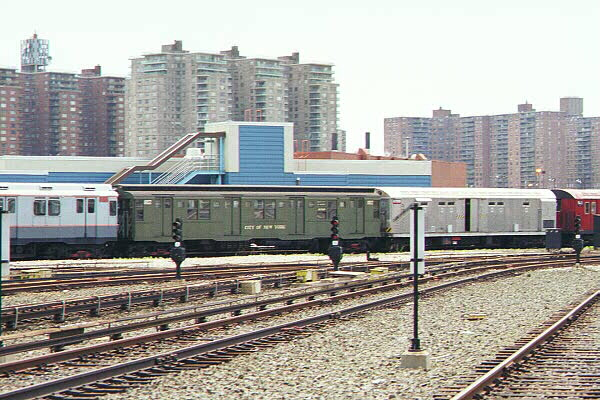 (135k, 600x400)<br><b>Country:</b> United States<br><b>City:</b> New York<br><b>System:</b> New York City Transit<br><b>Location:</b> Coney Island Yard-Museum Yard<br><b>Car:</b> R-9 (Pressed Steel, 1940)  1802 <br><b>Photo by:</b> Sidney Keyles<br><b>Date:</b> 5/22/1999<br><b>Viewed (this week/total):</b> 5 / 2942