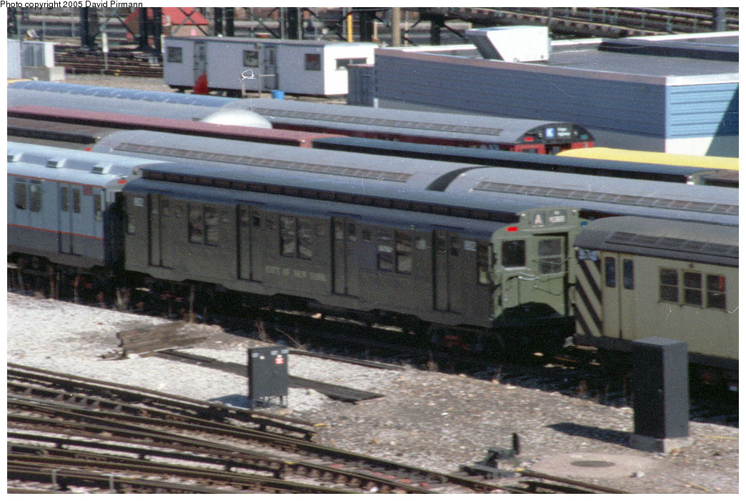 (236k, 1044x701)<br><b>Country:</b> United States<br><b>City:</b> New York<br><b>System:</b> New York City Transit<br><b>Location:</b> Coney Island Yard-Museum Yard<br><b>Car:</b> R-9 (Pressed Steel, 1940)  1802 <br><b>Photo by:</b> David Pirmann<br><b>Date:</b> 2/24/1996<br><b>Viewed (this week/total):</b> 0 / 3874