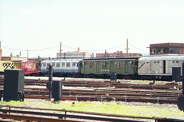 (111k, 600x400)<br><b>Country:</b> United States<br><b>City:</b> New York<br><b>System:</b> New York City Transit<br><b>Location:</b> Coney Island Yard-Museum Yard<br><b>Car:</b> R-9 (Pressed Steel, 1940)  1802 <br><b>Photo by:</b> Sidney Keyles<br><b>Date:</b> 5/22/1999<br><b>Viewed (this week/total):</b> 1 / 2673