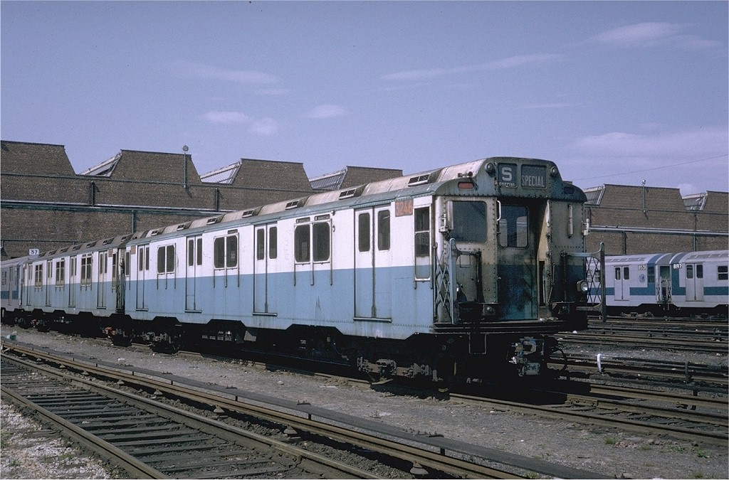 (211k, 1024x675)<br><b>Country:</b> United States<br><b>City:</b> New York<br><b>System:</b> New York City Transit<br><b>Location:</b> Coney Island Yard<br><b>Car:</b> R-10 (American Car & Foundry, 1948) 3246 <br><b>Photo by:</b> Steve Zabel<br><b>Collection of:</b> Joe Testagrose<br><b>Date:</b> 5/11/1971<br><b>Viewed (this week/total):</b> 1 / 2392