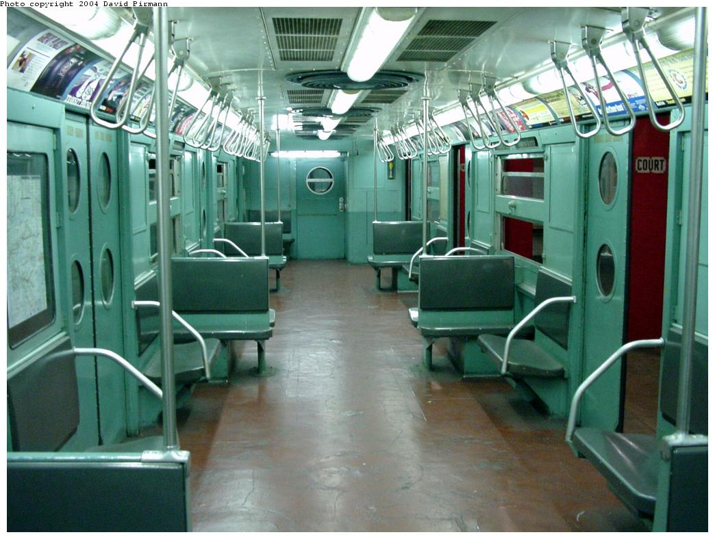 (134k, 1044x788)<br><b>Country:</b> United States<br><b>City:</b> New York<br><b>System:</b> New York City Transit<br><b>Location:</b> New York Transit Museum<br><b>Car:</b> R-11 (Budd, 1949) 8013 <br><b>Photo by:</b> David Pirmann<br><b>Date:</b> 3/12/2000<br><b>Viewed (this week/total):</b> 13 / 20394