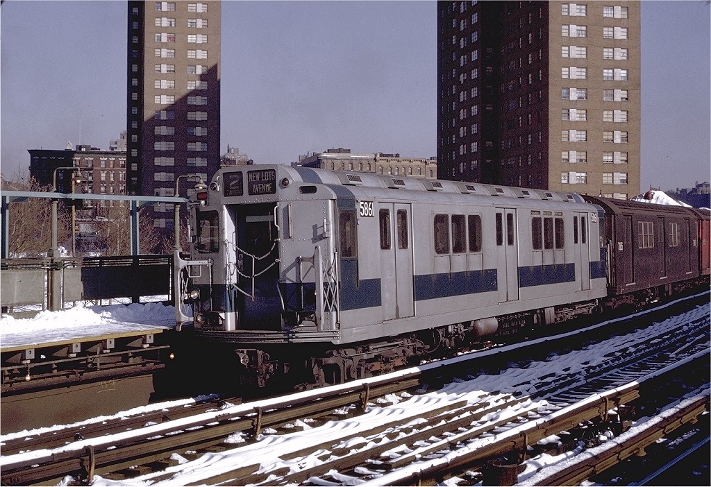 (281k, 1024x702)<br><b>Country:</b> United States<br><b>City:</b> New York<br><b>System:</b> New York City Transit<br><b>Line:</b> IRT White Plains Road Line<br><b>Location:</b> Jackson Avenue <br><b>Route:</b> 2<br><b>Car:</b> R-14 (American Car & Foundry, 1949) 5861 <br><b>Photo by:</b> Joe Testagrose<br><b>Date:</b> 1/2/1971<br><b>Viewed (this week/total):</b> 3 / 2959