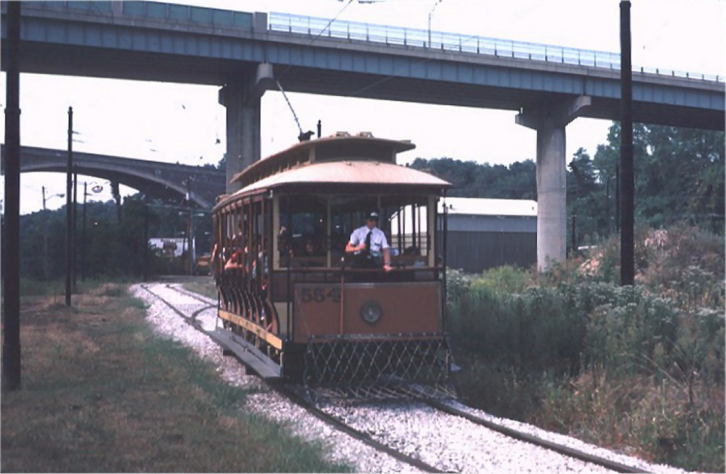 (141k, 1024x669)<br><b>Country:</b> United States<br><b>City:</b> Baltimore, MD<br><b>System:</b> Baltimore Streetcar Museum <br><b>Car:</b>  554 <br><b>Photo by:</b> Steve Zabel<br><b>Collection of:</b> Joe Testagrose<br><b>Date:</b> 9/14/1980<br><b>Viewed (this week/total):</b> 2 / 1589