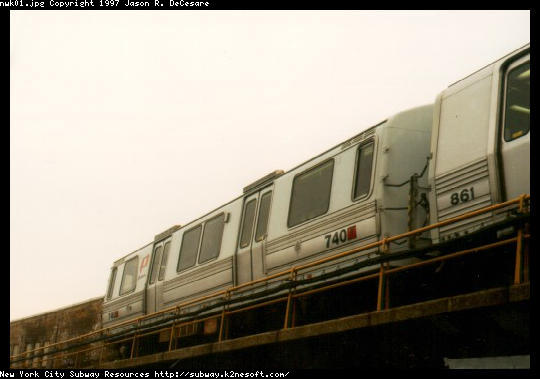 (28k, 540x379)<br><b>Country:</b> United States<br><b>City:</b> Newark, NJ<br><b>System:</b> PATH<br><b>Location:</b> Newark (Penn Station) <br><b>Car:</b> PATH PA-3 (Hawker-Siddley, 1972)  740 <br><b>Photo by:</b> Jason R. DeCesare<br><b>Date:</b> 11/1996<br><b>Viewed (this week/total):</b> 0 / 3849