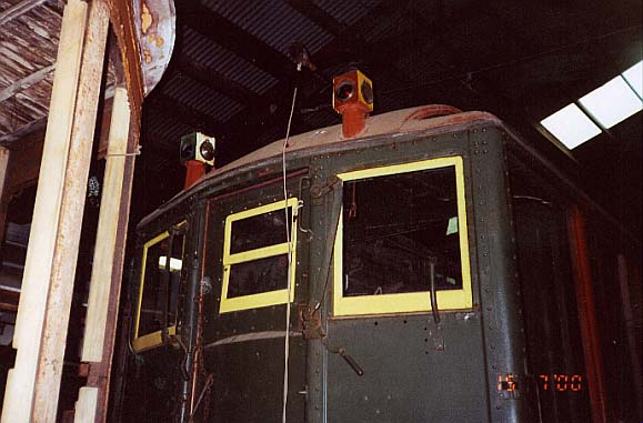 (44k, 579x381)<br><b>Country:</b> United States<br><b>City:</b> Kennebunk, ME<br><b>System:</b> Seashore Trolley Museum <br><b>Car:</b> Hi-V 3352 <br><b>Photo by:</b> Thurston Clark<br><b>Date:</b> 7/15/2000<br><b>Viewed (this week/total):</b> 2 / 2736