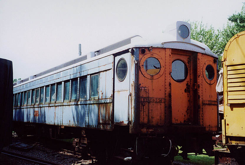 (97k, 831x561)<br><b>Country:</b> United States<br><b>City:</b> Kennebunk, ME<br><b>System:</b> Seashore Trolley Museum <br><b>Car:</b> LIRR MP54  4137 <br><b>Photo by:</b> Doug Diamond<br><b>Date:</b> 7/15/2000<br><b>Notes:</b> LIRR MP-54 #4137 in 89 seat configuration mfg. by PRR for LIRR in 1930<br><b>Viewed (this week/total):</b> 0 / 2115