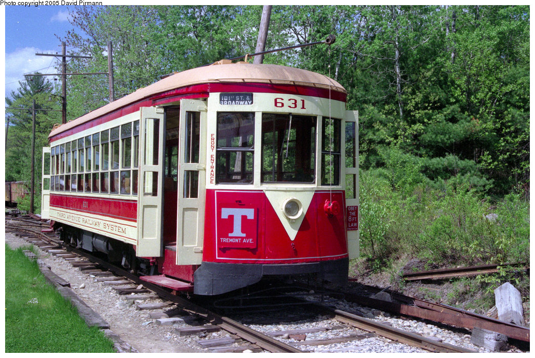 (317k, 1044x698)<br><b>Country:</b> United States<br><b>City:</b> Kennebunk, ME<br><b>System:</b> Seashore Trolley Museum <br><b>Car:</b> TARS 631 <br><b>Photo by:</b> David Pirmann<br><b>Date:</b> 5/25/1996<br><b>Notes:</b> Former Vienna 4216<br><b>Viewed (this week/total):</b> 0 / 1880