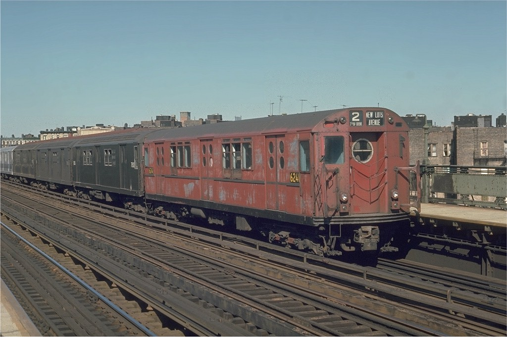 (178k, 1024x681)<br><b>Country:</b> United States<br><b>City:</b> New York<br><b>System:</b> New York City Transit<br><b>Line:</b> IRT White Plains Road Line<br><b>Location:</b> Intervale Avenue <br><b>Route:</b> 2<br><b>Car:</b> R-15 (American Car & Foundry, 1950) 6241 <br><b>Photo by:</b> Joe Testagrose<br><b>Date:</b> 5/30/1970<br><b>Viewed (this week/total):</b> 2 / 2418