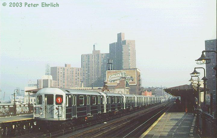 (124k, 720x457)<br><b>Country:</b> United States<br><b>City:</b> New York<br><b>System:</b> New York City Transit<br><b>Line:</b> IRT West Side Line<br><b>Location:</b> 125th Street <br><b>Route:</b> 1<br><b>Car:</b> R-62A (Bombardier, 1984-1987)  1853 <br><b>Photo by:</b> Peter Ehrlich<br><b>Date:</b> 10/23/1986<br><b>Viewed (this week/total):</b> 3 / 5573