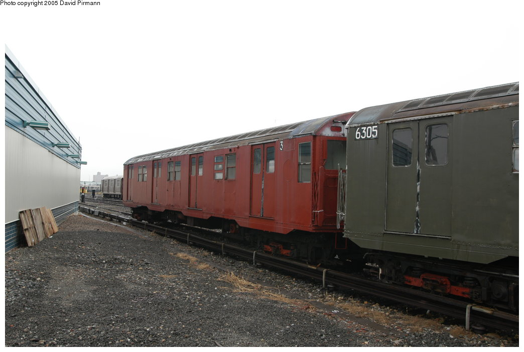 (168k, 1044x701)<br><b>Country:</b> United States<br><b>City:</b> New York<br><b>System:</b> New York City Transit<br><b>Location:</b> Coney Island Yard-Museum Yard<br><b>Car:</b> R-16 (American Car & Foundry, 1955) 6339 <br><b>Photo by:</b> David Pirmann<br><b>Date:</b> 4/5/2003<br><b>Viewed (this week/total):</b> 6 / 6078