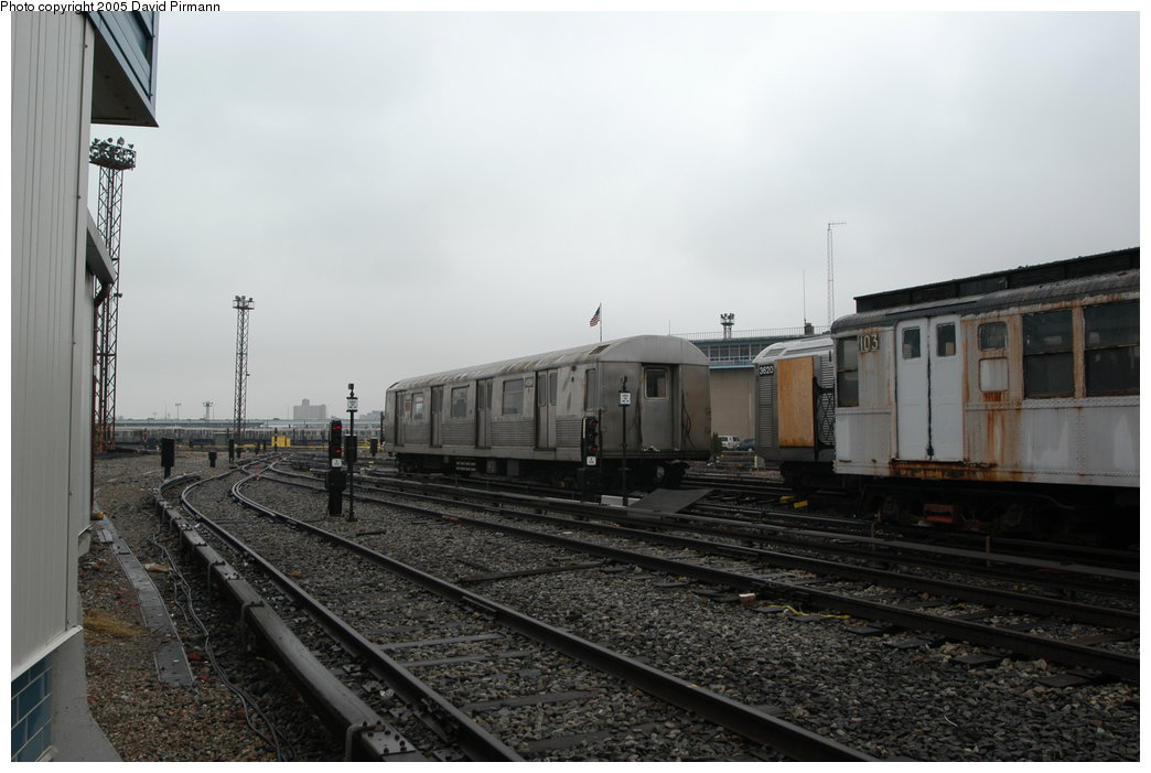 (167k, 1044x701)<br><b>Country:</b> United States<br><b>City:</b> New York<br><b>System:</b> New York City Transit<br><b>Location:</b> Coney Island Yard<br><b>Car:</b> R-42 (St. Louis, 1969-1970)  4594 <br><b>Photo by:</b> David Pirmann<br><b>Date:</b> 4/5/2003<br><b>Viewed (this week/total):</b> 2 / 4070