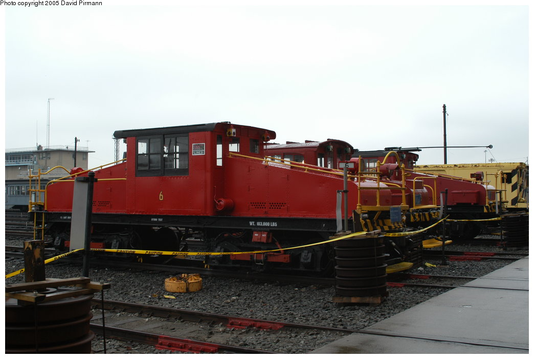 (159k, 1044x701)<br><b>Country:</b> United States<br><b>City:</b> New York<br><b>System:</b> New York City Transit<br><b>Location:</b> Coney Island Yard-Museum Yard<br><b>Car:</b> SBK Steeplecab 6 <br><b>Photo by:</b> David Pirmann<br><b>Date:</b> 4/5/2003<br><b>Viewed (this week/total):</b> 2 / 2417