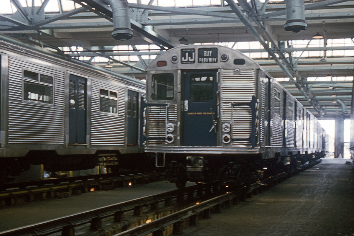(341k, 1044x699)<br><b>Country:</b> United States<br><b>City:</b> New York<br><b>System:</b> New York City Transit<br><b>Location:</b> Coney Island Shop/Overhaul & Repair Shop<br><b>Car:</b> R-32 (Budd, 1964)  3742 <br><b>Collection of:</b> David Pirmann<br><b>Date:</b> 6/20/1965<br><b>Viewed (this week/total):</b> 1 / 3677